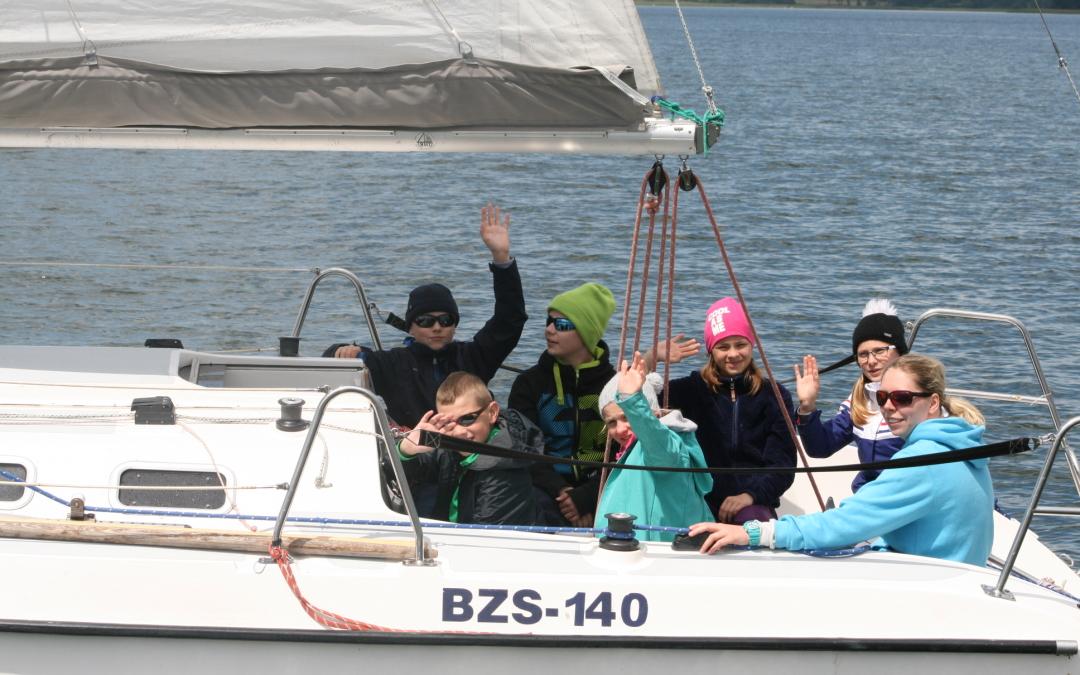 Wędrówki żeglarskie – Mazury