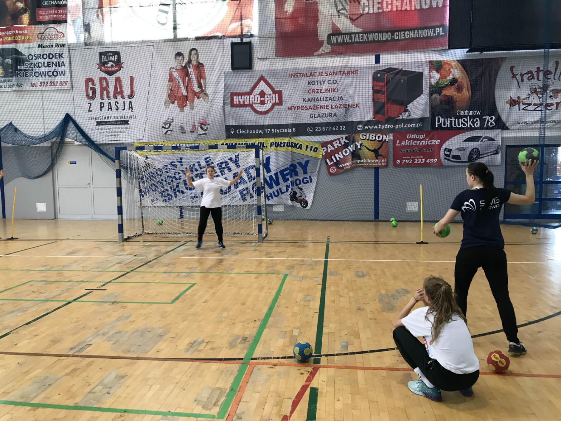 program sportowy piłka ręczna